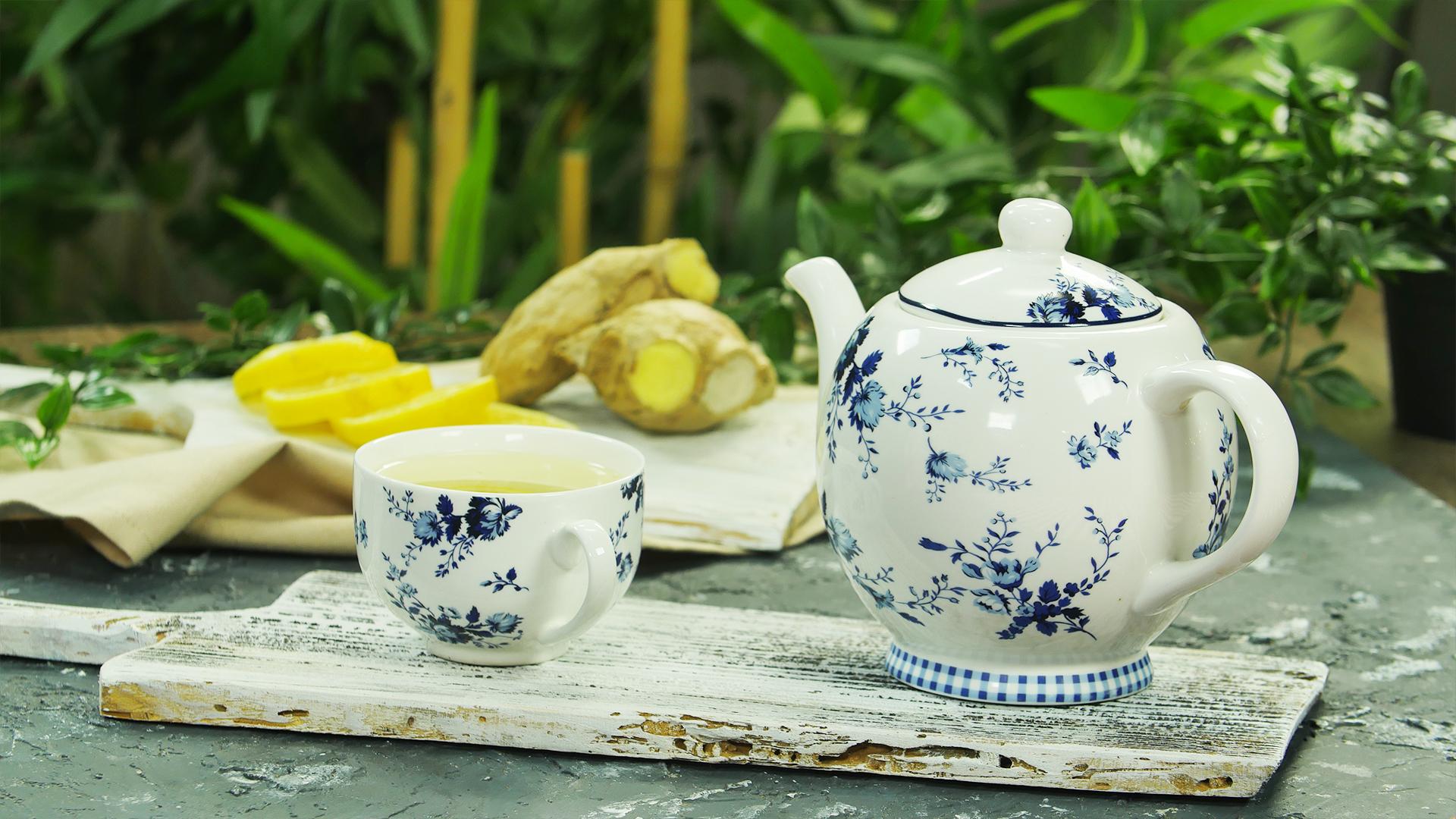 Zencefilli Ballı Kış Çayı