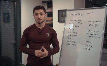 İlk Fitness Antrenmanınız | Ağırsağlam ile Evde Yağ Yakımı #1