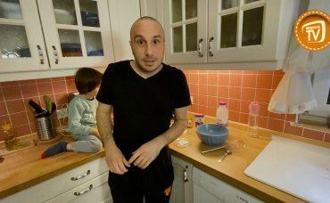 Ali ve Uras Evde Carte d'Or ile Pancake Yapıyor