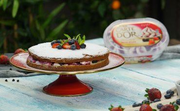 Nefis Carte d'Or ile Taçlanan Tatlılar | Dondurmalı Pasta Tarifi