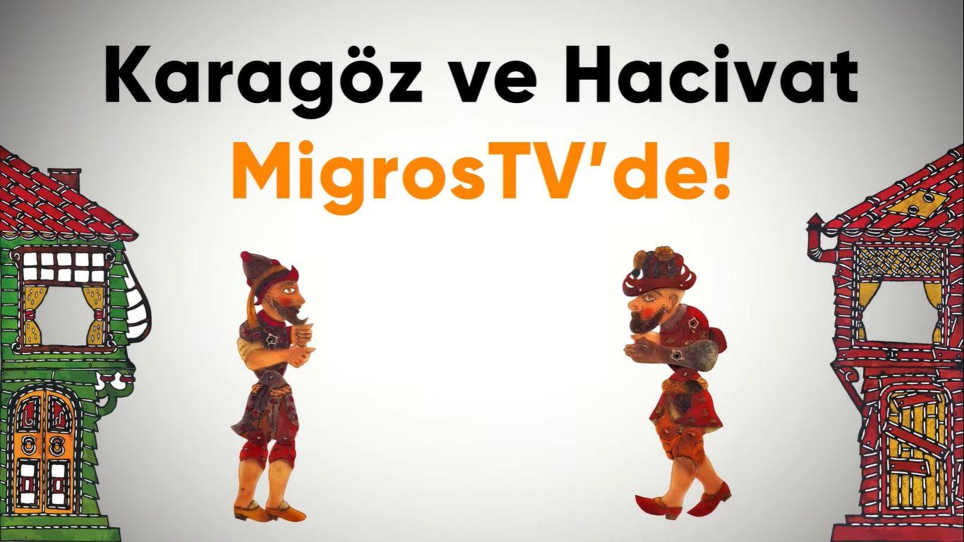 Karagöz ve Hacivat MigrosTV'de | Bölüm #1