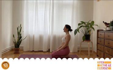 Kotex Active ile Günün Egzersizi Yoga | 1. Gün: Güneşi Selamlama