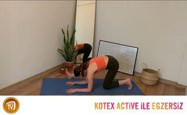 Kotex Active ile Günün Egzersizi Yoga | 10. Gün: Kalçalarını Dinle B