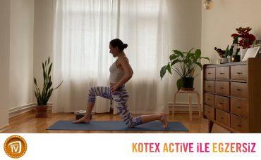 Kotex Active ile Günün Egzersizi Yoga | 2. Gün: Köklen ve Canlan