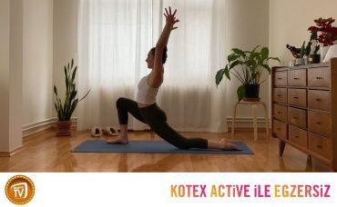 Kotex Active ile Günün Egzersizi Yoga | 3. Gün: Kalçalarını Dinle