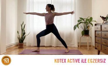 Kotex Active ile Günün Egzersizi Yoga | 5. Gün: Merkezini Ateşle