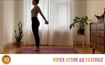 Kotex Active ile Günün Egzersizi Yoga | 6. Gün: Omuzlar ve Sırt