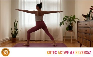 Kotex Active ile Günün Egzersizi Yoga | 7. Gün: Full Body Flow