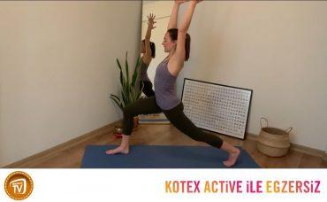 Kotex Active ile Günün Egzersizi Yoga | 9. Gün: Köklen ve Canlan B