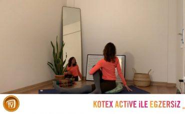 Kotex Active ile Günün Egzersizi Yoga | 12. Gün: Katlan ve Çevril