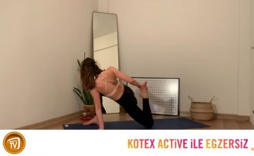 Kotex Active ile Günün Egzersizi Yoga | 14. Gün: Full Body Flow