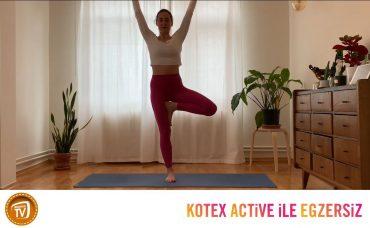 Kotex Active ile Günün Egzersizi Yoga | 4. Gün: Dengede Kal