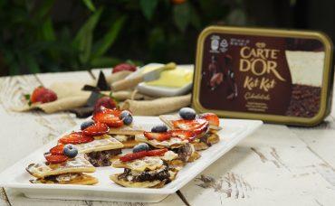 Nefis Carte d'Or ile Taçlanan Tatlılar | Lokmalık Waffle