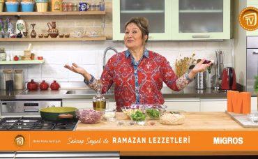 Sahrap Soysal ile Ramazan Lezzetleri Mantarlı Çiftlik Kebabı