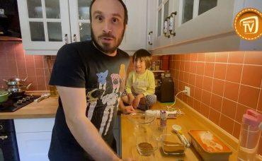 Ali ve Uras Evde Carte d'Or ile Dondurmalı Kahve Yapıyor