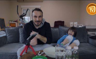 Ali ve Uras Evde Eğitici Deneyler Yapıyor!