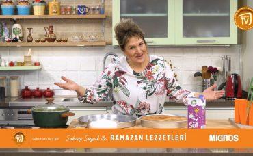 Sahrap Soysal ile Ramazan Lezzetleri Karamelli Ekmek Kadayıfı
