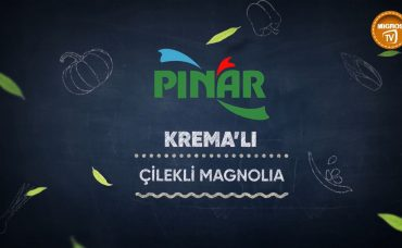 Pınar Krema'lı Çilekli Magnolia