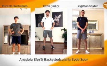 Anadolu Efes Performans Koçu Ozan Şirikçi ile Evde Antrenman