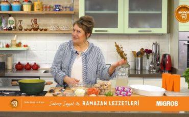 Sahrap Soysal ile Ramazan Lezzetleri Şehriyeli Balkan Kapaması