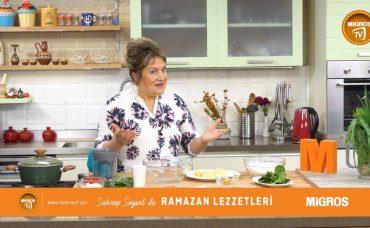 Sahrap Soysal ile Ramazan Lezzetleri Ispanaklı Akdeniz Makarnası