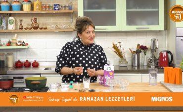 Sahrap Soysal ile Ramazan Lezzetleri Bademli Zerdeli Sütlaç