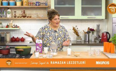 Sahrap Soysal ile Ramazan Lezzetleri Karamelli Sütlaç