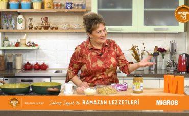 Sahrap Soysal ile Ramazan Lezzetleri Tavuklu Hünkar Beğendi