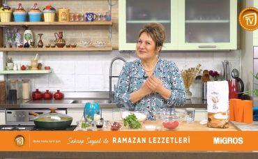 Sahrap Soysal ile Ramazan Lezzetleri Tavada Lahmacun
