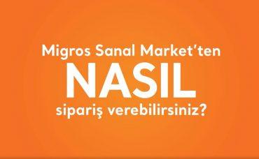 Migros Sanal Market'ten Nasıl Sipariş Verilir?