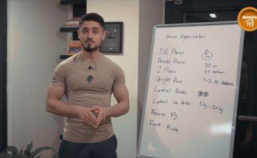 Evde En İyi Omuz Egzersizleri! Ağırsağlam ile Evde Yağ Yakımı #7