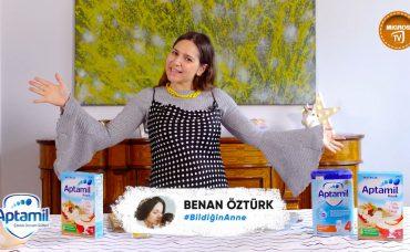 Aptamil Çocuk Devam Sütleri'nin Katkılarıyla Bebeklere Muzlu Püre