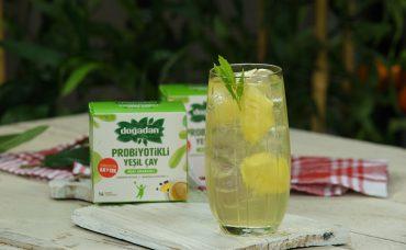 Doğadan Katkılarıyla; Probiyotikli Açai Ananaslı Soğuk Yeşil Çay