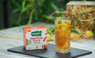 Doğadan Katkılarıyla; Probiyotikli Kayısılı Soğuk Siyah Çay