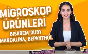 MİGROSKOP ÜRÜNLERİ | Biskrem Ruby , Mandalina, Bepanthol