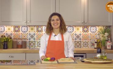 Zeze Cooks ile Avokadolu Dip Sos ve Sağlıklı Cips Tarifi