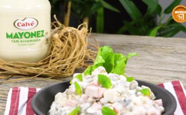 Calve Katkılarıyla; Rus Salatası Tarifi