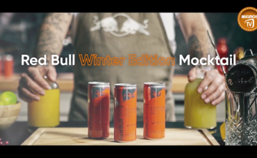 Red Bull Winter Edition Mocktail