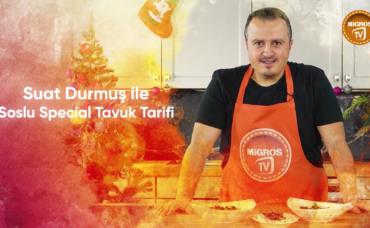 Suat Durmuş ile Soslu Special Tavuk Tarifi