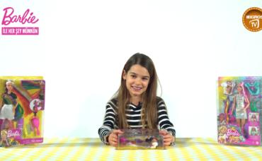 Lavinya ile Barbie Gökkuşağı Renkli Saçlar ve Barbie Sonsuz Saç Eğlencesi