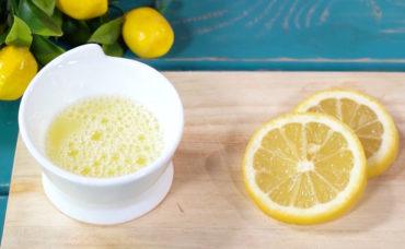 Yumurta Akı ve Limon Suyu Maskesi