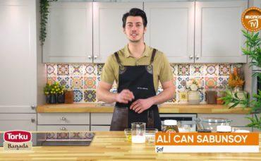 Torku Katkılarıyla ; Ali Can Sabunsoy ile İftar Sonrası Tatlıları : Kakaolu Fındık Kremalı Çörek