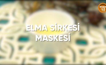 Elma Sirkesi Maskesi