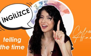 Çilem Akar ile Çocuklara İngilizce Eğitimi: Saat Söyleme