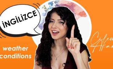 Çilem Akar ile Çocuklara İngilizce Eğitimi: Hava Durumu