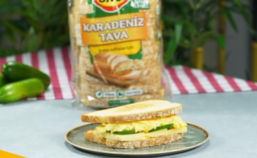 Beslenme Çantası Tarifleri : Çırpılmış Yumurtalı Sandviç