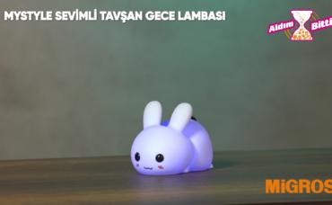 MYSTYLE SEVİMLİ TAVŞAN GECE LAMBASI