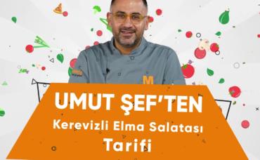 Umut Şef'ten Kerevizli Elma Salatası Tarifi