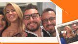 Burcu Esmersoy ve Danilo'dan Canlı Yayın Selfie'si!