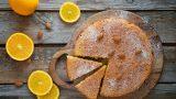 Portakal Parçacıklı: Tahinli Kek